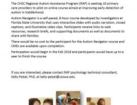 Autism Navigator Program