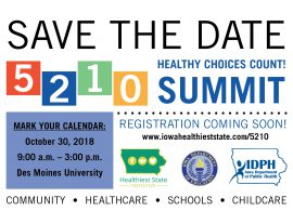 Save the Date: 5-2-1-0 Summit Oct. 30