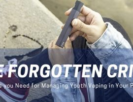 The Forgotten Crisis: The Tools You Need for Managing Youth Vaping in Your Practice