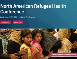North American Refugee Health Conference: Sept. 9-11, 2021